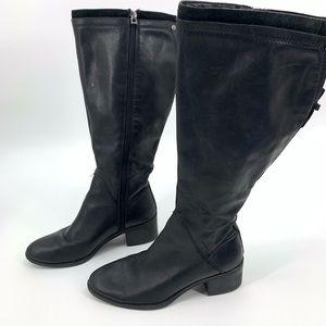 Franco Sarto Lithium women's boots wide calf black